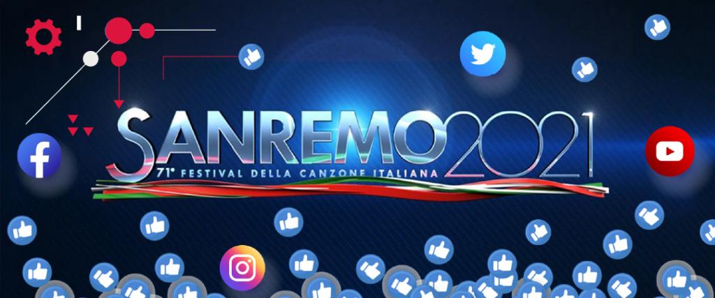 Il Festival di Sanremo è sempre più social